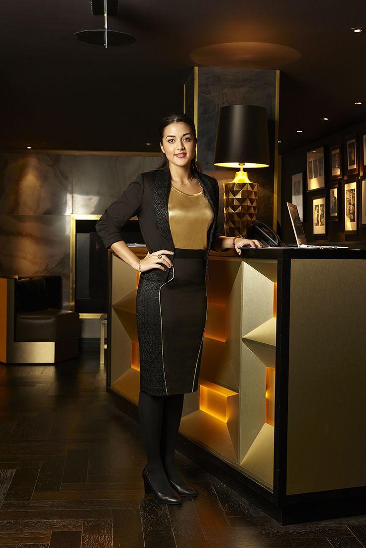 Quaglino's Female Manager in her Studio 104 uniform