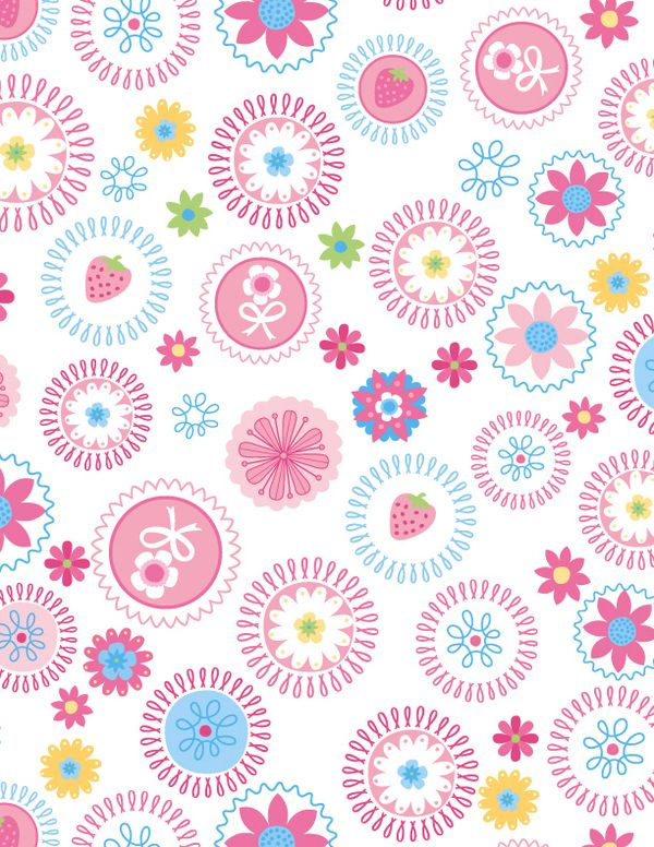 Sweet pattterns by LA designer Claire Edwards
