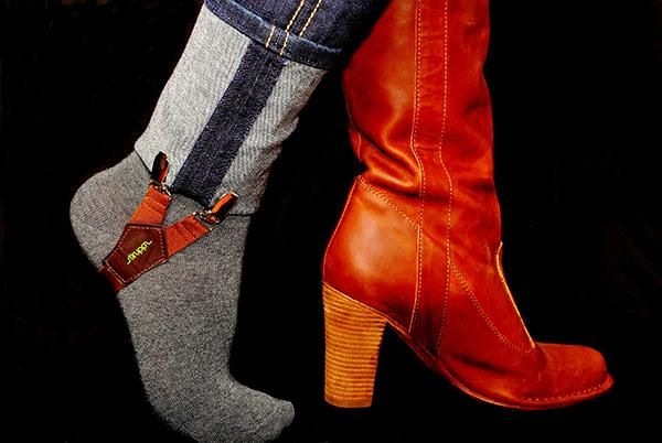Genius! I have these, and they are fabulous for keeping pants tucked into boots.: Idea, Skinny Jeans, Boots Repin, Pants Tucked, Keeping Pants, Keeping Jeans, Skinny Pants, Jeans Tucked, Tucking Jeans Into Boots