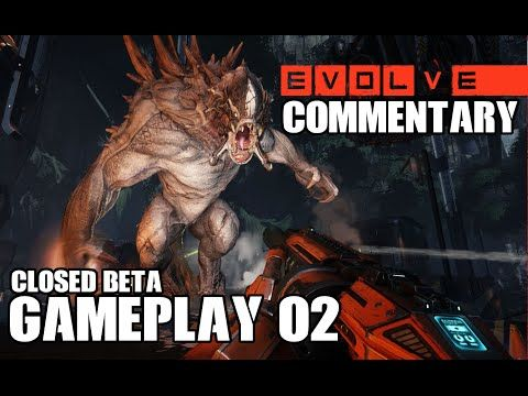 Evolve Gameplay Multiplayer: Hunters vs Goliath Monster Evolve Closed Beta Weekend Event.  Watch me play Multiplayer as a Hunter vs the Goliath Monster. #EvolveBeta