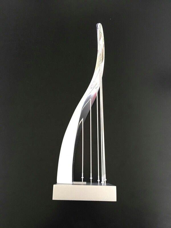 Modello di lampada realizzato nel corso dell'alternanza scuola-lavoro dall'allieva Francesca Pucci cl. 4C ind. Design a.s.2015/16. Liceo artistico Stagi Pietrasanta.