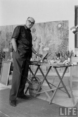 nikos xatzikyriakos gikas-greek painter