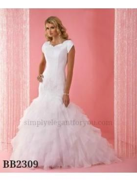 Weekend Sale 499 Modest Wedding Dress Lace Tulle