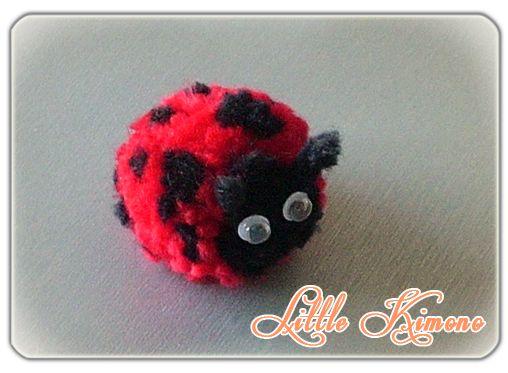 Pompom ladybug