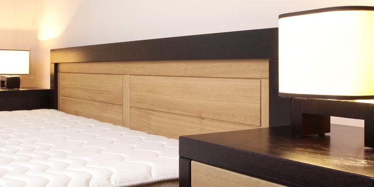Innova tömörfa ágy