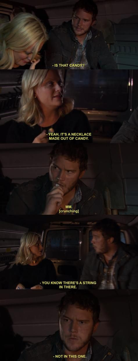 Leslie Knope and Andy Dwyer ~ Parks and Recreation