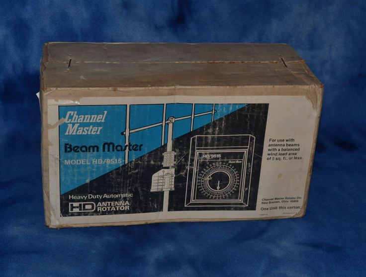 0c078caa1b9fabc8760fb8cb0606c20a 9515 channel master tv ham antenna rotor vintage nib sealed usa  at fashall.co