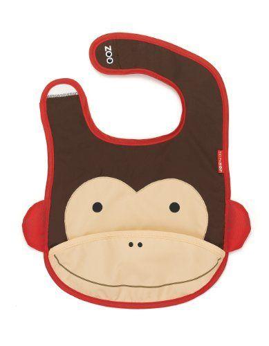 Skip Hop Zoo Bib, Monkey - Sale Price: $6.80 [ http://www.phashionique.com/skip-hop-zoo-bib-monkey-2/ ]