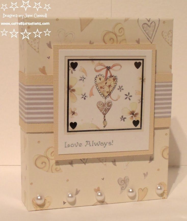 Carroll's Creations: New Special Birthdays and Love  Romance kits from Crafter's Companion