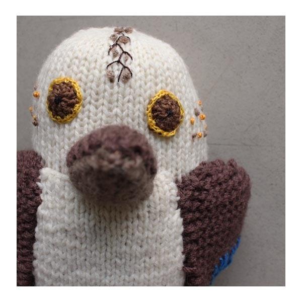 Knitted Toy - Kookaburra