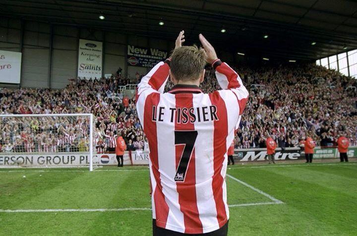Southampton's legend, Matthew Le Tissier