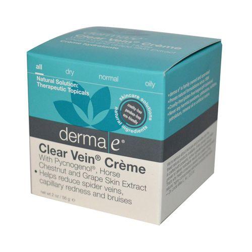 Derma E Clear Vein Creme Spider Vein Bruise Solution (1x2 Oz)