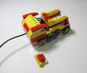 Lego Wedo | Инструкция по сборке Самосвала | Roboproject.ru