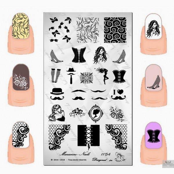 Fancy Nail Art Image Plates Ensign - Nail Art Design Ideas ...