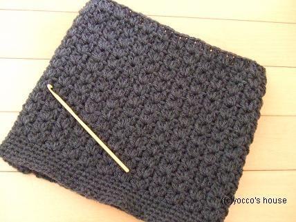 *かぎ針編み*ふわふわモヘアのスヌード。着画追加。   yocco's house - 楽天ブログ