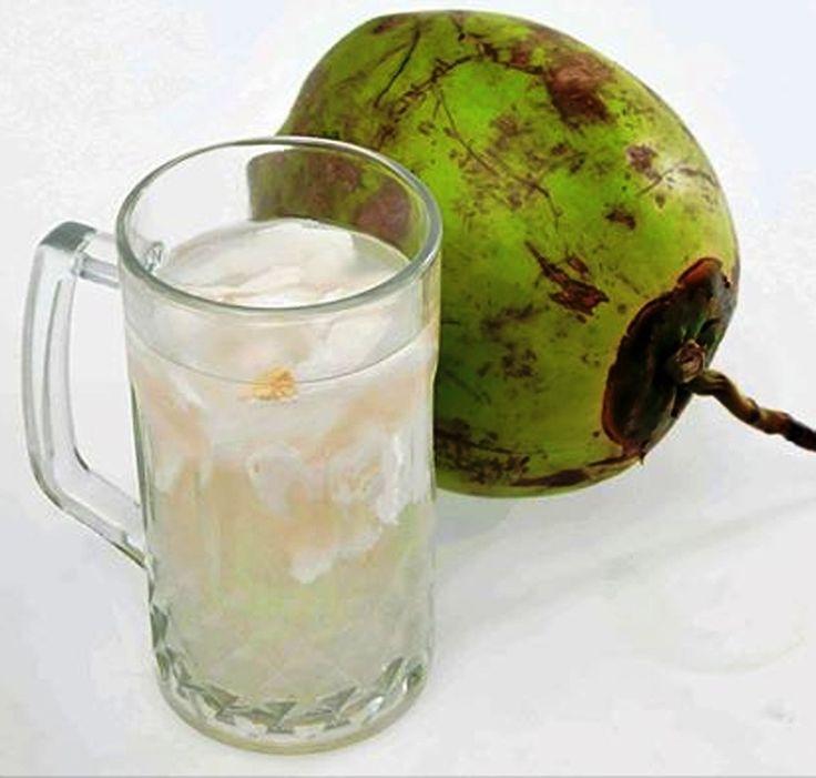 Fresh coco drink