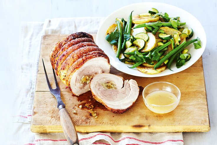 Get grilling with this fast and easy roast pork recipe using just six ingredients!
