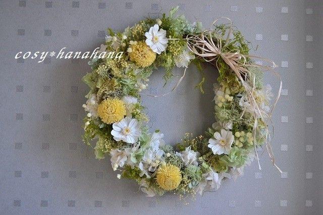 陽だまりの春wreathの画像1枚目