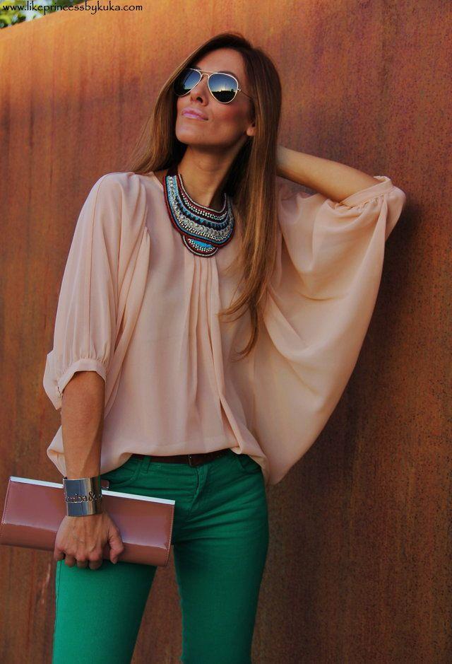 Primark  Camisas / Blusas, Sfera  Pants and Primark  Bags