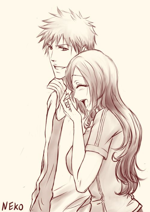 ichigo and orihime moments - photo #22