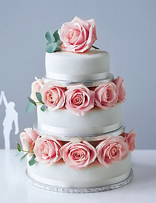 Traditional Wedding Cake - Small Tier | M&S