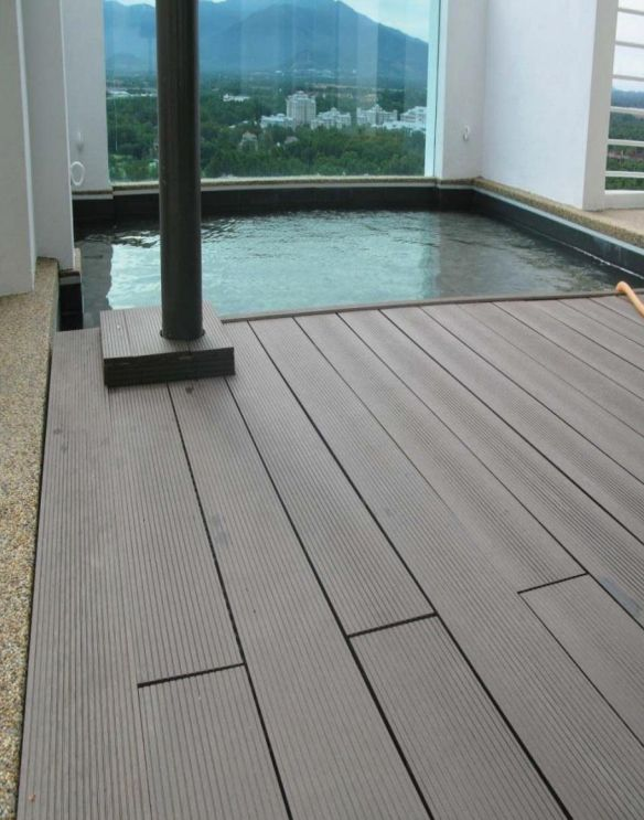 17 best images about wpc wood plastic floor on pinterest for Fiberon decking cost per square foot