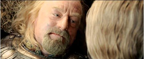 what is the relationship between eowyn and theoden