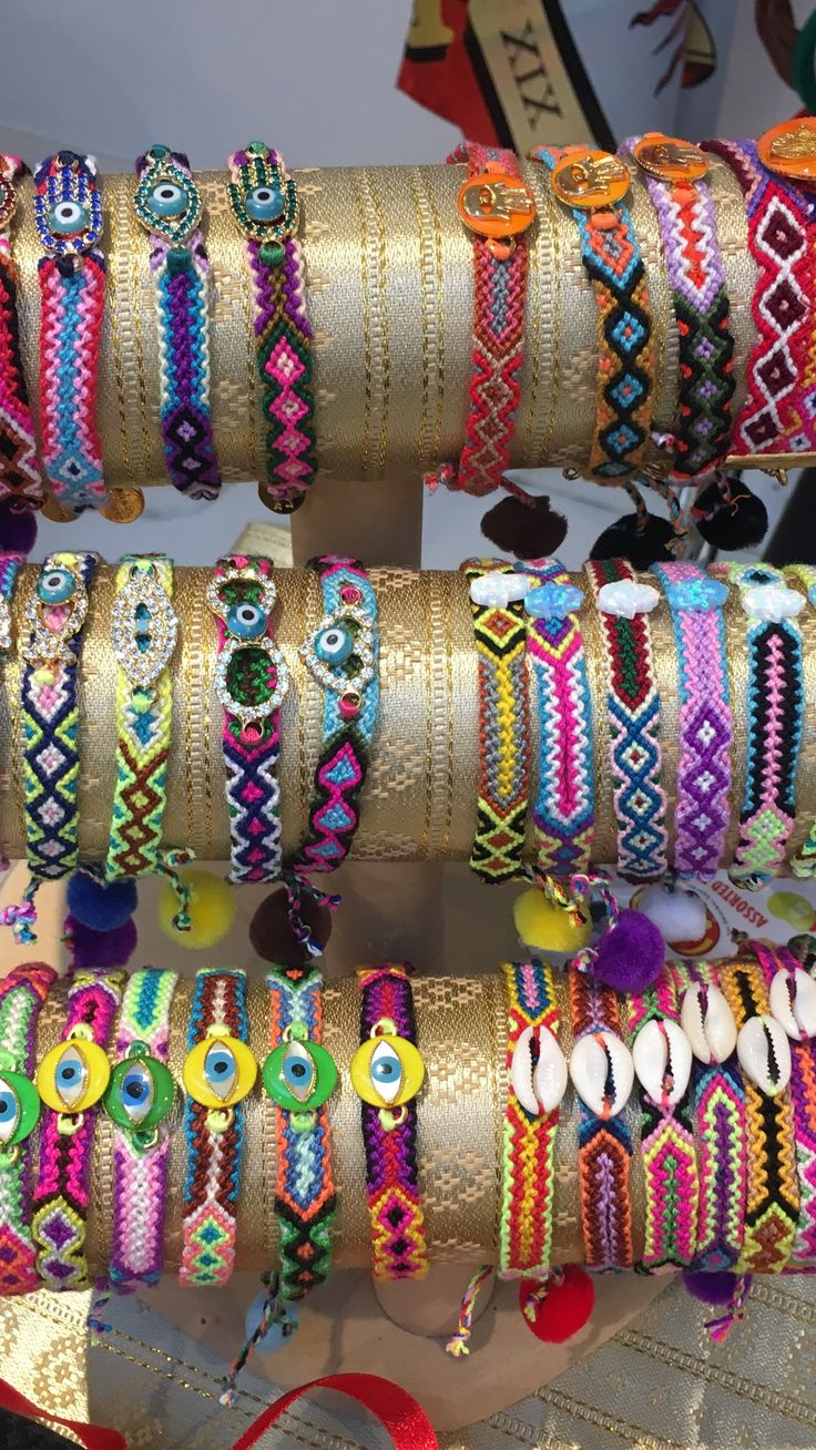 Heres a selection of our #danalevy friendship bracelets to shine your way through the festive season