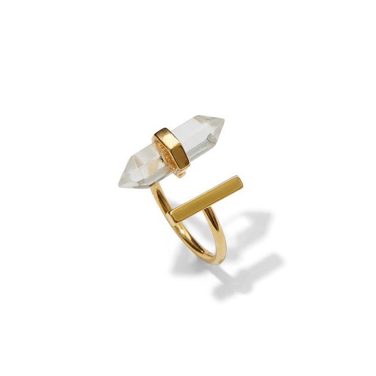 "Kitsch Beyond the Stars Gold Ring, <span class=""price"">$32.00</span> #birchbox"