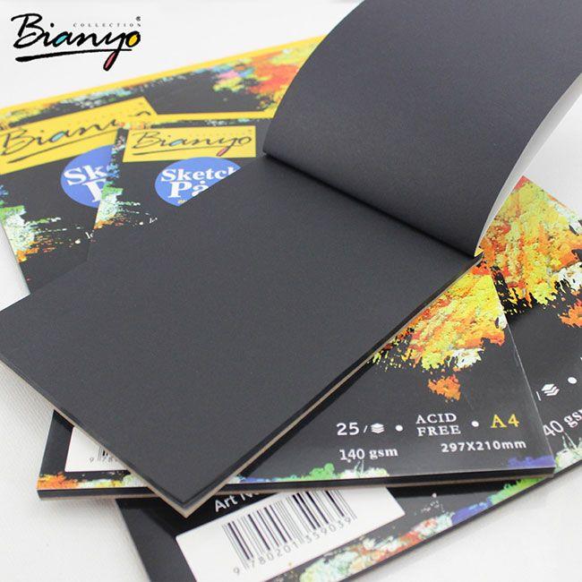Черный альбом для рисования