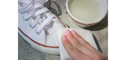 How to Clean White Converse (with Pictures) | eHow  @joliehowland