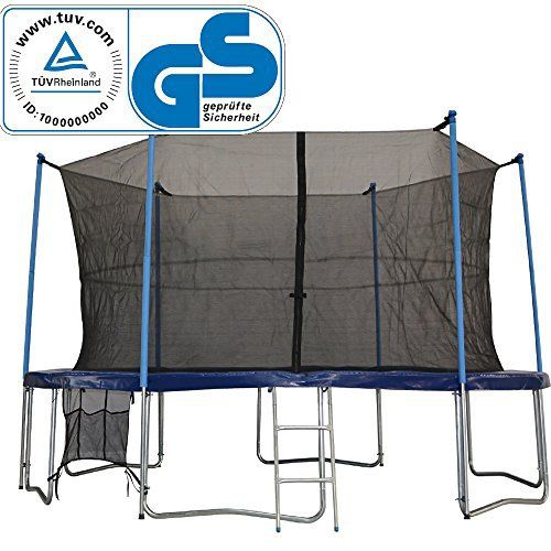 TüV Zupapa 15 Ft Trampoline Combo Include Inside Net Enclosure net / Safety Pad / Mat / Springs / Ladder / Shoes Bag / Rain Cover - http://www.exercisejoy.com/tuv-zupapa-15-ft-trampoline-combo-include-inside-net-enclosure-net-safety-pad-mat-springs-ladder-shoes-bag-rain-cover/fitness/