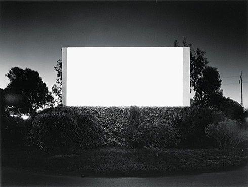 Hiroshi Sugimoto. South Bay Drive-In, San Diego. 1993 - Guggenheim Museum