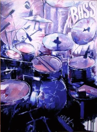 Best Drums Images On Pinterest DIY Artists And Board - Putting paint on a drum kit creates an explosive rainbow