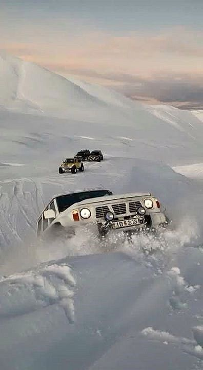 Nissan Patrol Gr Y60 snow Islandia