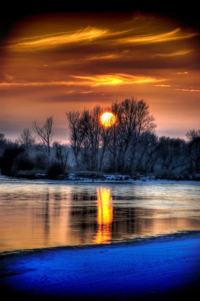Beautiful Snake River in Idaho.