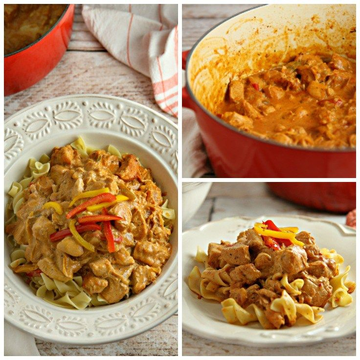 chicken paprikash slow cooker recipe