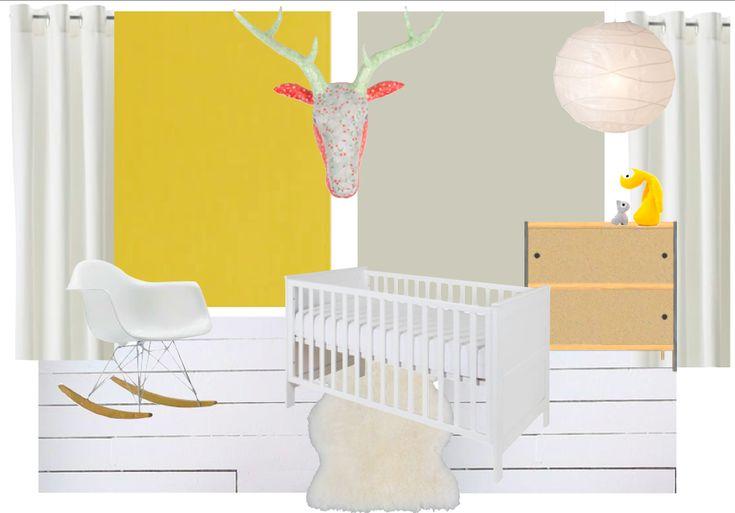 Babykamer - meisje http://www.leef-interieuradvies.nl/