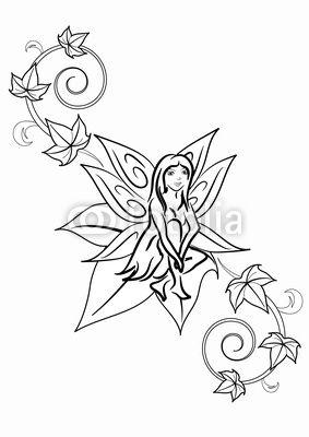 fatina edera tatuaggio