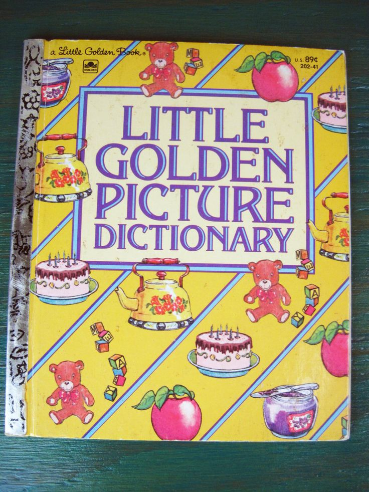 Little Golden Picture Dictionary - Vintage Children's ...