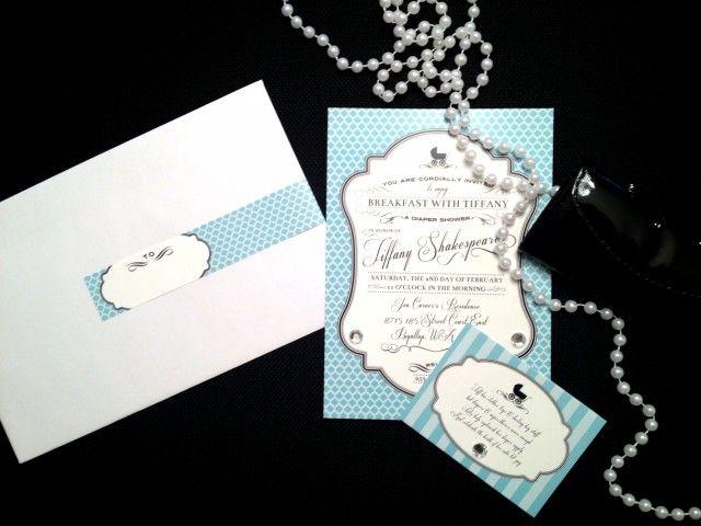 Anders Ruff Custom Designs, LLC: Breakfast With Tiffany Diaper Shower