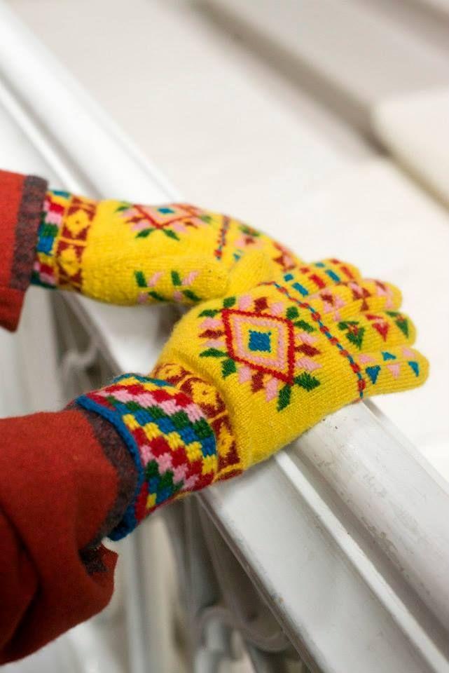 """OmaMood 2014"" (""OwnFashion"") - based on Estonian handicraft traditions  / University of Tartu Viljandi Culture Academy, Estonian Native Textiles Department. http://www.kultuur.ut.ee/en/departments/crafts/programmes/textile"