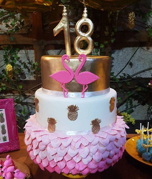 Créditos: @cactoazul_ Ideias Criativas para Festa Flamingo