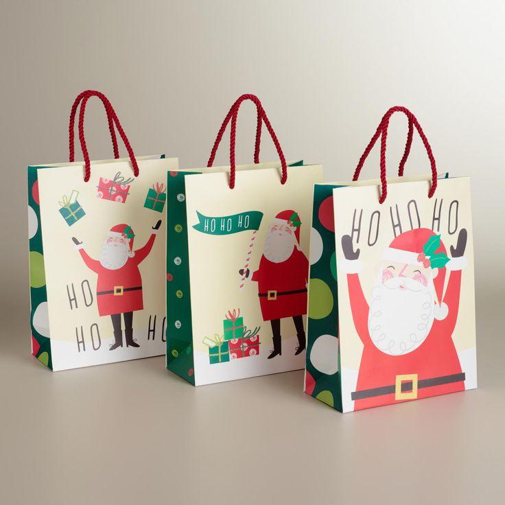 409 best Christmas Gift bag images on Pinterest | Tissue paper ...
