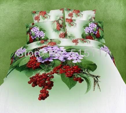 2013 de 4 pcs cama jogos 3d reactiva roupa de cama tamanho completo/rainha 100% de cama de algodão conjunto de folhas/cobrir/800tc* f...