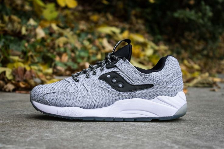 Best Drop Shipping Saucony Originals Grid 9000 Mens running shoes Gray black month