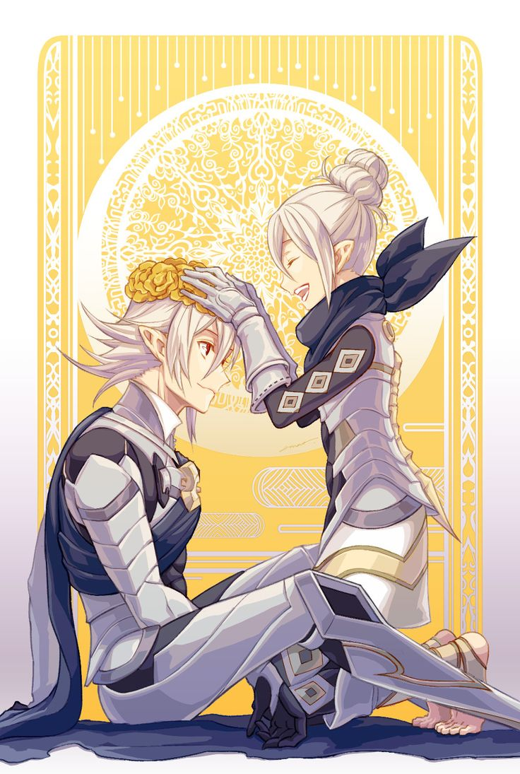 Fire Emblem: If/Fates - Kana and Kamui