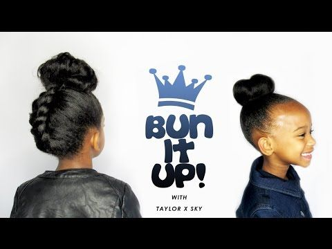 9 Back to School Young Natural Hair Children Hairstyles - Natural Power of HER