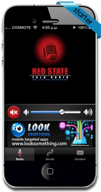 New iphone application for Red State Talk Radio in USA