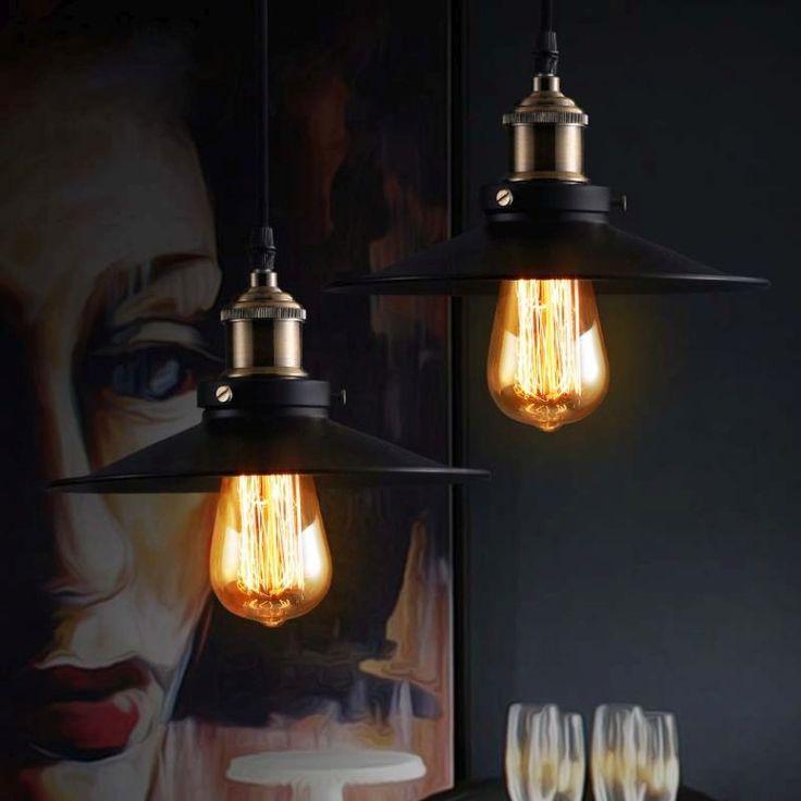 luminaire suspendu de design industriel